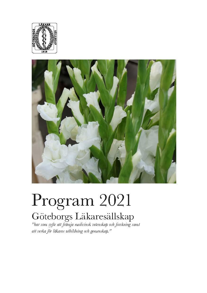 Program 20178Göteborgs läkaresällskap
